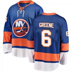Fanatics Branded Andy Greene New York Islanders Men's Breakaway Home Jersey - Blue