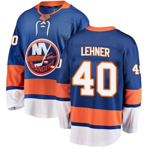 Fanatics Branded Robin Lehner New York Islanders Men's Breakaway Home Jersey - Blue