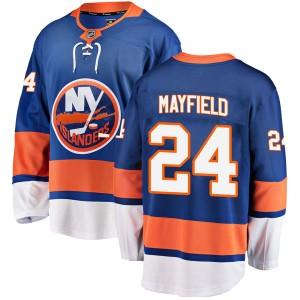 Fanatics Branded Scott Mayfield New York Islanders Men's Breakaway Home Jersey - Blue