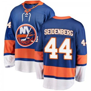 Fanatics Branded Dennis Seidenberg New York Islanders Men's Breakaway Home Jersey - Blue