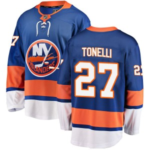 Fanatics Branded John Tonelli New York Islanders Men's Breakaway Home Jersey - Blue