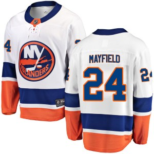 Fanatics Branded Scott Mayfield New York Islanders Men's Breakaway Away Jersey - White