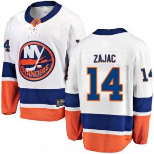 Fanatics Branded Travis Zajac New York Islanders Men's Breakaway Away Jersey - White