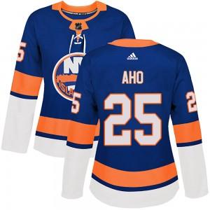 Adidas Sebastian Aho New York Islanders Women's Authentic Home Jersey - Royal
