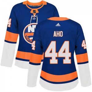Adidas Sebastian Aho New York Islanders Women's Authentic Home Jersey - Royal