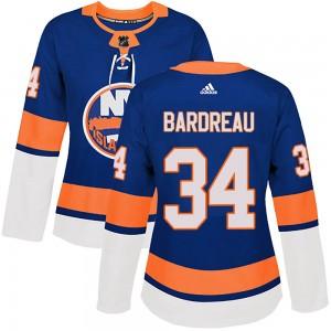 Adidas Cole Bardreau New York Islanders Women's Authentic Home Jersey - Royal