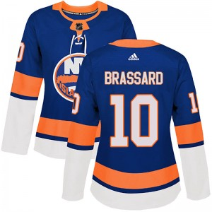 Adidas Derick Brassard New York Islanders Women's Authentic Home Jersey - Royal