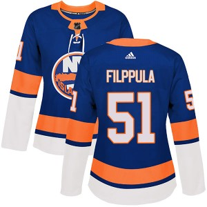 Adidas Valtteri Filppula New York Islanders Women's Authentic Home Jersey - Royal