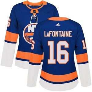Adidas Pat LaFontaine New York Islanders Women's Authentic Home Jersey - Royal
