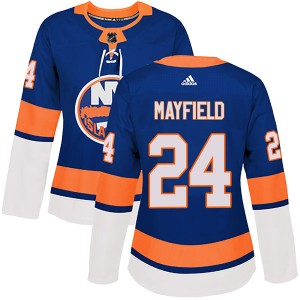 Adidas Scott Mayfield New York Islanders Women's Authentic Home Jersey - Royal
