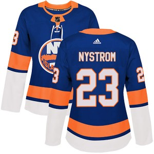 Adidas Bob Nystrom New York Islanders Women's Authentic Home Jersey - Royal