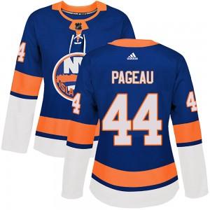 Adidas Jean-Gabriel Pageau New York Islanders Women's Authentic ized Home Jersey - Royal