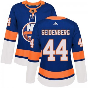 Adidas Dennis Seidenberg New York Islanders Women's Authentic Home Jersey - Royal