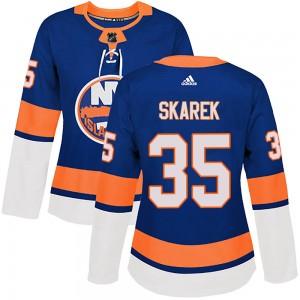 Adidas Jakub Skarek New York Islanders Women's Authentic Home Jersey - Royal