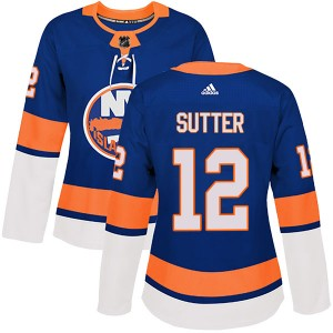 Adidas Duane Sutter New York Islanders Women's Authentic Home Jersey - Royal