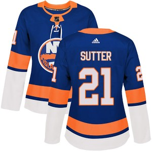 Adidas Brent Sutter New York Islanders Women's Authentic Home Jersey - Royal