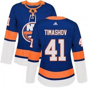 Adidas Dmytro Timashov New York Islanders Women's Authentic Home Jersey - Royal