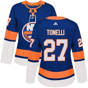 Adidas John Tonelli New York Islanders Women's Authentic Home Jersey - Royal