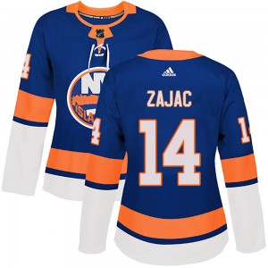 Adidas Travis Zajac New York Islanders Women's Authentic Home Jersey - Royal