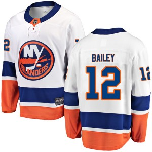 Fanatics Branded Josh Bailey New York Islanders Youth Breakaway Away Jersey - White