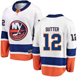 Fanatics Branded Duane Sutter New York Islanders Youth Breakaway Away Jersey - White