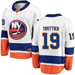 Fanatics Branded Bryan Trottier New York Islanders Youth Breakaway Away Jersey - White