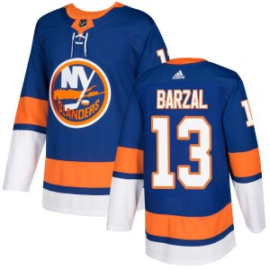 Adidas Mathew Barzal New York Islanders Men's Authentic Jersey - Royal