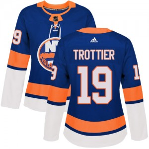 Adidas Bryan Trottier New York Islanders Women's Authentic Home Jersey - Royal Blue