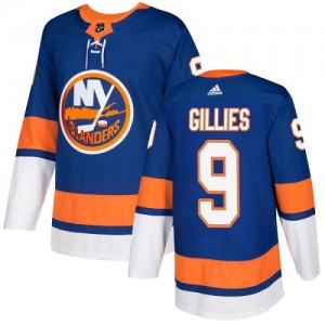 Adidas Clark Gillies New York Islanders Youth Authentic Home Jersey - Royal Blue