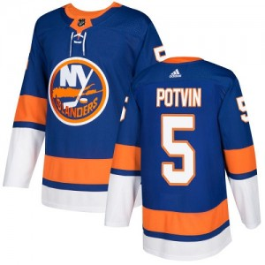 Adidas Denis Potvin New York Islanders Youth Authentic Home Jersey - Royal Blue