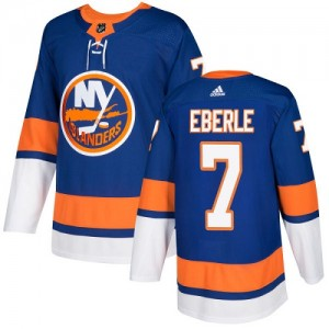Adidas Jordan Eberle New York Islanders Youth Authentic Home Jersey - Royal Blue
