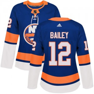 Adidas Josh Bailey New York Islanders Women's Authentic Home Jersey - Royal Blue