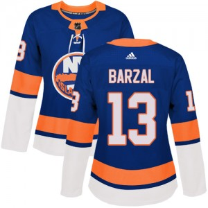 Adidas Mathew Barzal New York Islanders Women's Authentic Home Jersey - Royal Blue