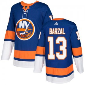 Adidas Mathew Barzal New York Islanders Youth Authentic Home Jersey - Royal Blue