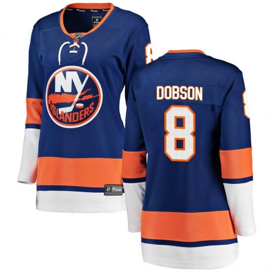 Fanatics Branded Noah Dobson New York Islanders Women's Breakaway Home Jersey - Blue