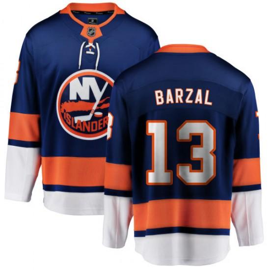 best website fcd00 d9c9c Fanatics Branded Mathew Barzal New York Islanders Youth Home Breakaway  Jersey - Blue