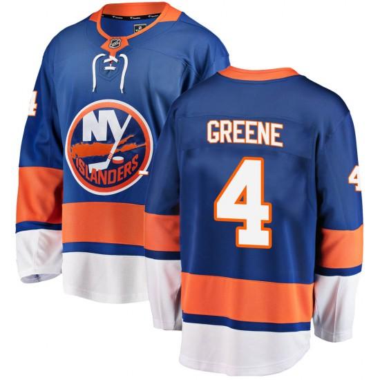 Fanatics Branded Andy Greene New York Islanders Youth ized Breakaway Home Jersey - Blue