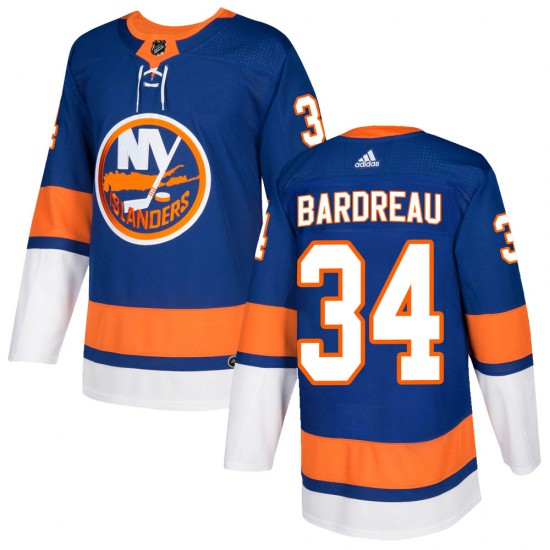 Adidas Cole Bardreau New York Islanders Youth Authentic Home Jersey - Royal
