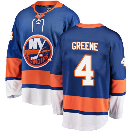 Fanatics Branded Andy Greene New York Islanders Men's ized Breakaway Home Jersey - Blue