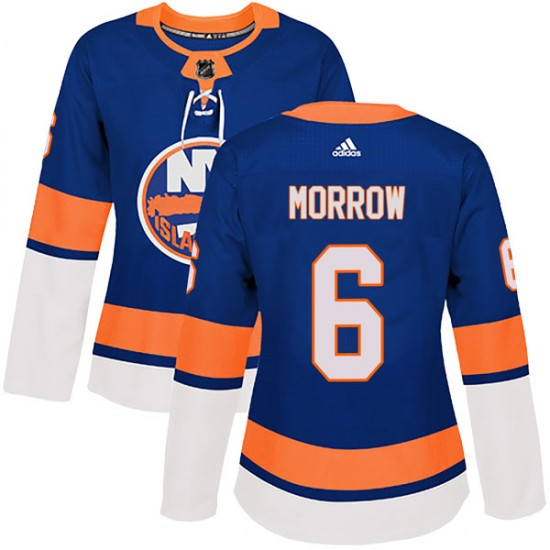 Adidas Ken Morrow New York Islanders Women's Authentic Home Jersey - Royal